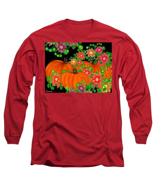 Fiesta Pumpkins Long Sleeve T-Shirt