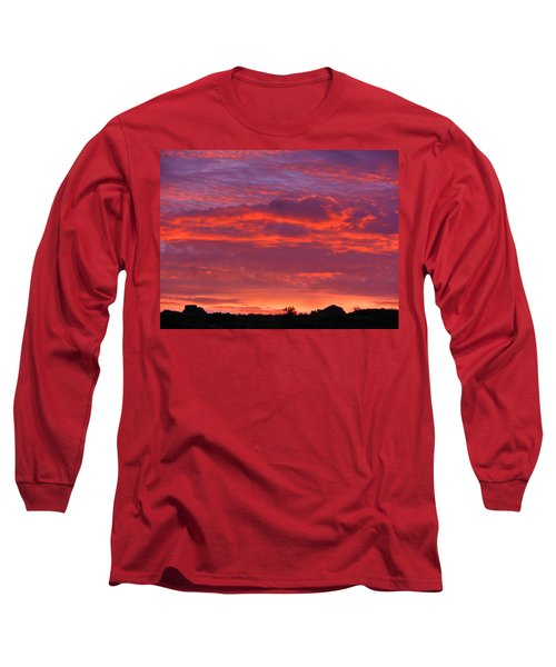 Fire In The Arizona Sky Long Sleeve T-Shirt