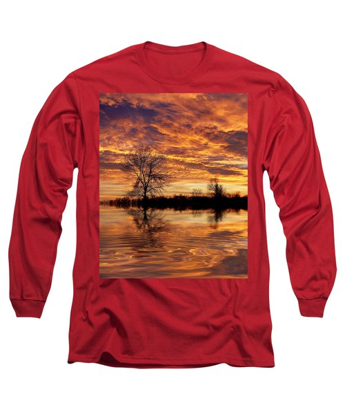Fire Painters In The Sky Long Sleeve T-Shirt