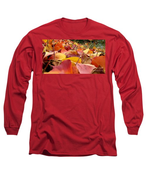 Long Sleeve T-Shirt featuring the photograph First Day Of Fall by Andrea Anderegg