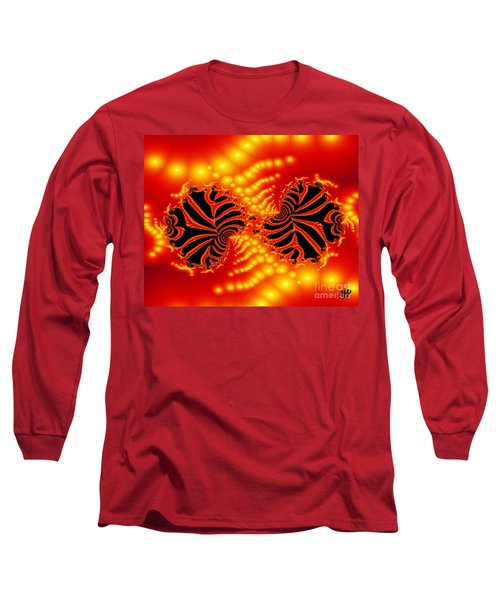 Long Sleeve T-Shirt featuring the digital art Anger by Hai Pham