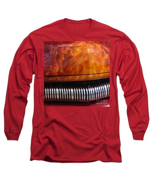 Flame Rod 1 Squared Long Sleeve T-Shirt