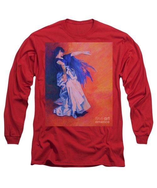 Flamenco-john Singer-sargent Long Sleeve T-Shirt