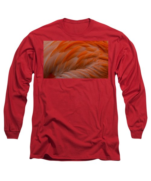 Flamingo Feathers Long Sleeve T-Shirt