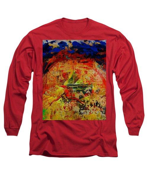 Free Bird Long Sleeve T-Shirt by Jean Cormier