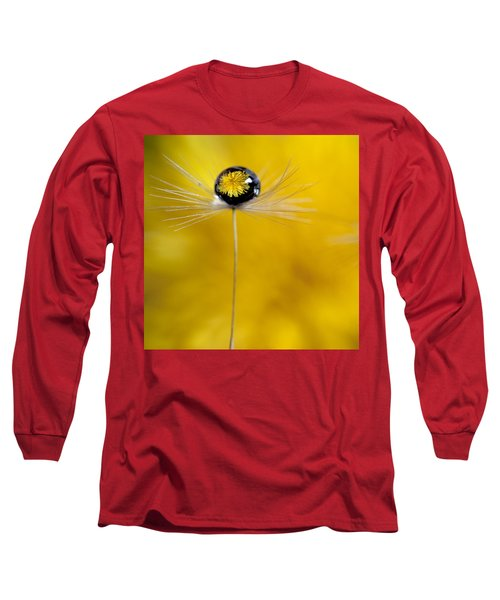 Flower And Seed Long Sleeve T-Shirt by Aaron Aldrich
