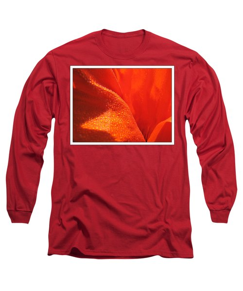 Peace And Death Flower Long Sleeve T-Shirt