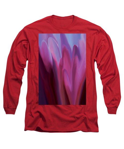 Flowery 1 Long Sleeve T-Shirt by Rabi Khan