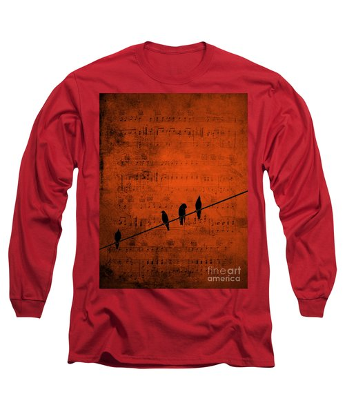 Follow The Music Long Sleeve T-Shirt by Andrea Kollo