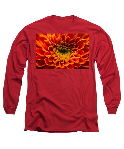 The Heart Of A Mum Long Sleeve T-Shirt