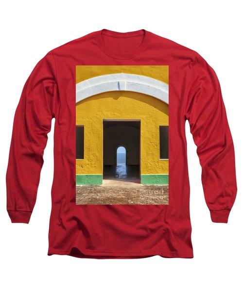 Fort Castillo San Felipe Del Morro Long Sleeve T-Shirt
