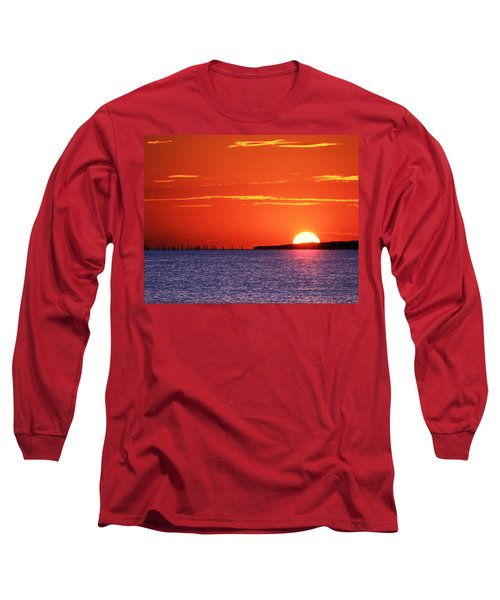 Fort Story Sunrise Long Sleeve T-Shirt