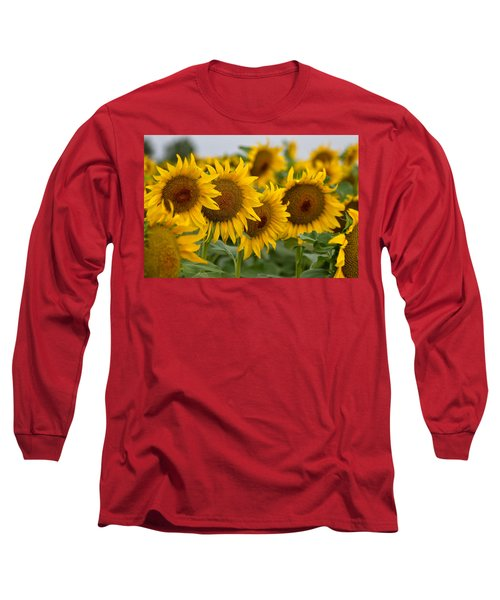 Four Long Sleeve T-Shirt by Ronda Kimbrow