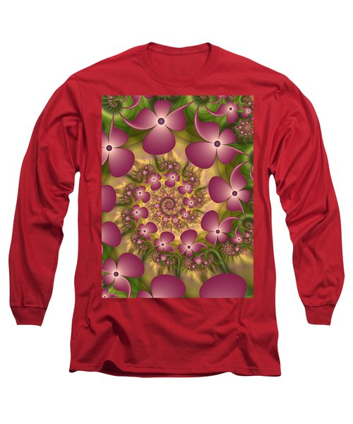 Fractal Joy Long Sleeve T-Shirt