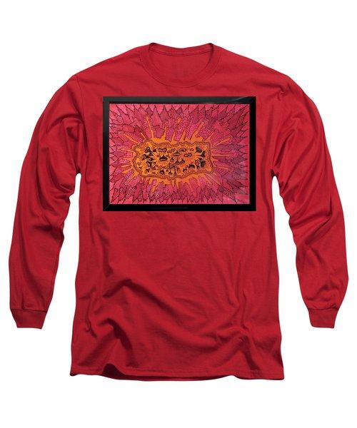 Fragmentia Demolorosa..........or Central Park Long Sleeve T-Shirt