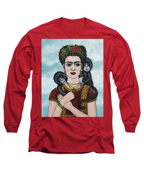 Frida In The Sky Long Sleeve T-Shirt