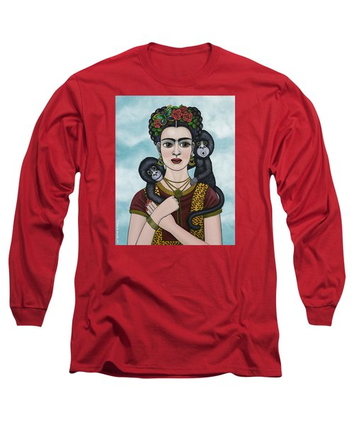 Frida In The Sky Long Sleeve T-Shirt