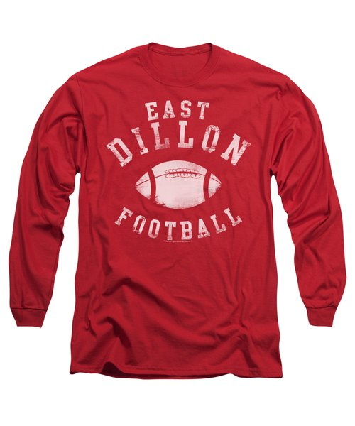 Friday Night Lts - East Dillon Football Long Sleeve T-Shirt