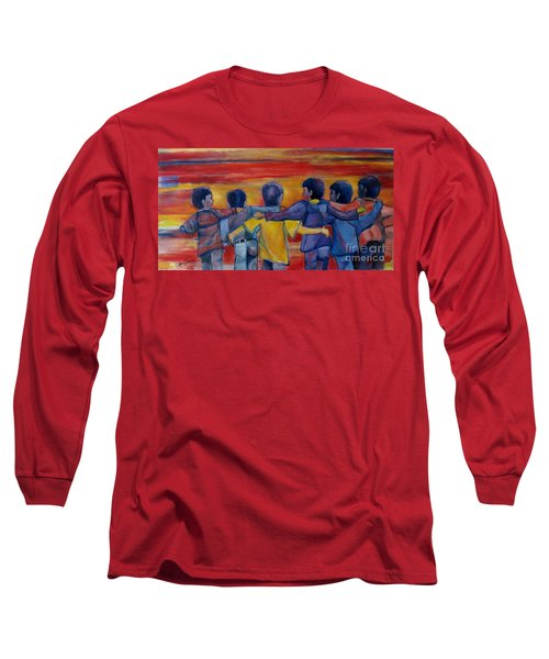 Friendship Walk - Children Long Sleeve T-Shirt