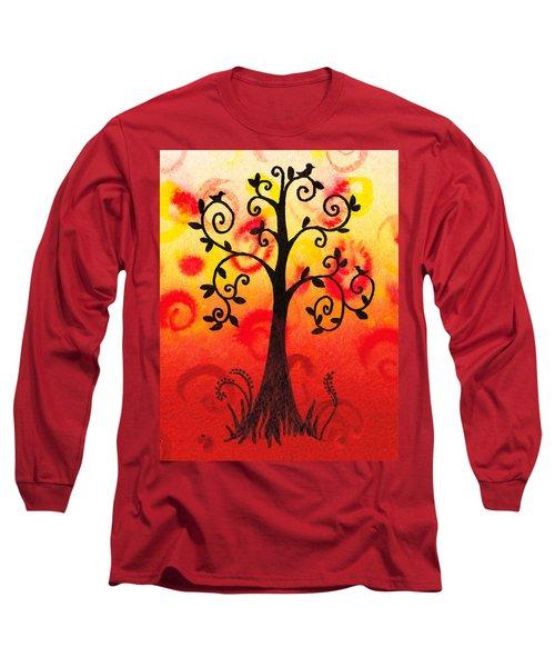 Fun Tree Of Life Impression IIi Long Sleeve T-Shirt