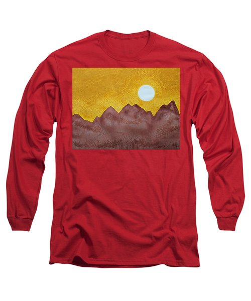 Gallup Original Painting Long Sleeve T-Shirt by Sol Luckman