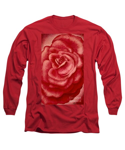 Garden Rose Long Sleeve T-Shirt