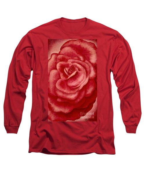 Garden Rose Long Sleeve T-Shirt