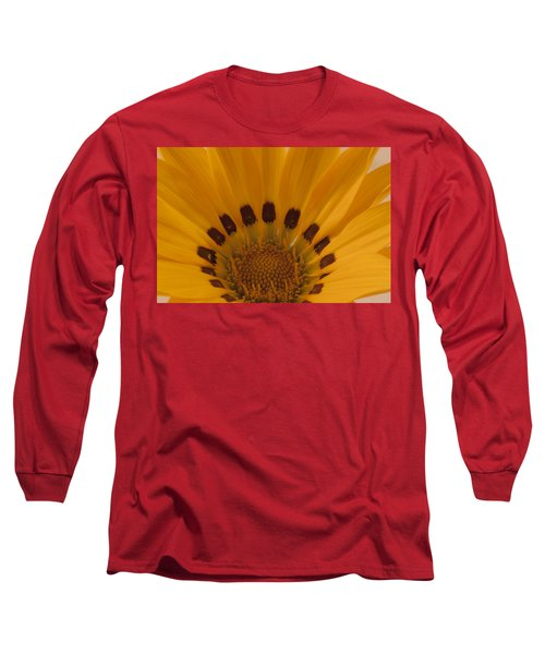 Gazania Stamen Macro Long Sleeve T-Shirt
