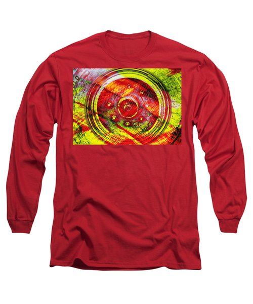 Geometric Colors  Long Sleeve T-Shirt