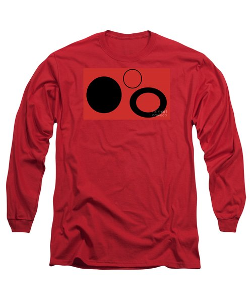 Long Sleeve T-Shirt featuring the photograph Geometric Shape Abstract 37 by Tina M Wenger