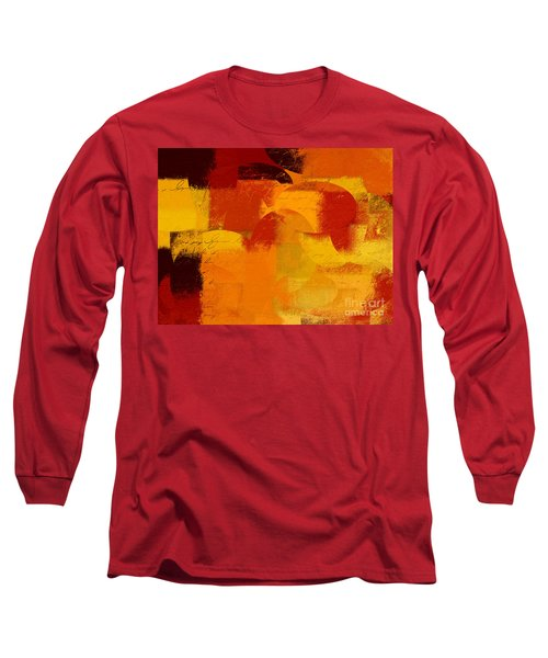 Geomix 05 - 01at01b Long Sleeve T-Shirt by Variance Collections
