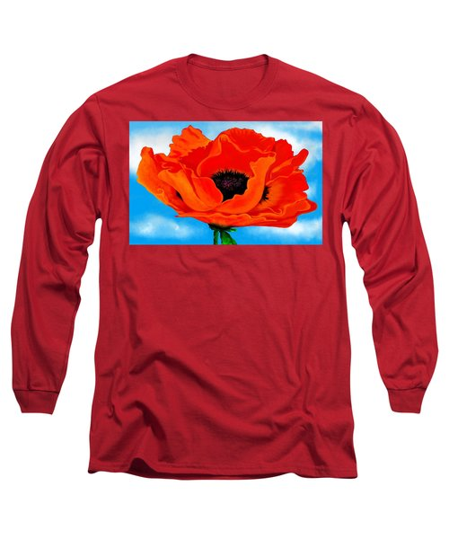 Georgia In The Sky Long Sleeve T-Shirt