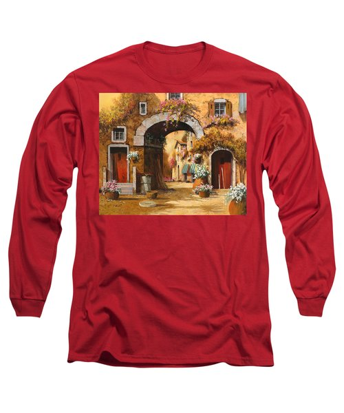 Giallo Arancio Long Sleeve T-Shirt