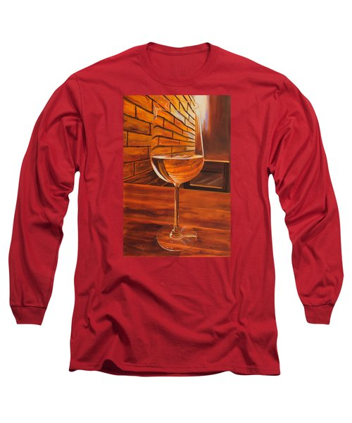 Glass Of Viognier Long Sleeve T-Shirt