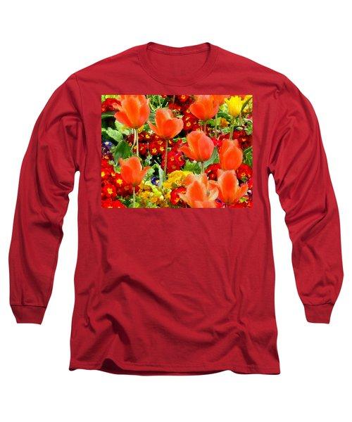 Glorious Garden Long Sleeve T-Shirt by Bruce Nutting