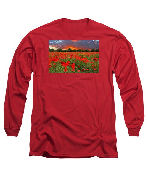 Glorious Texas Long Sleeve T-Shirt by Lynn Bauer