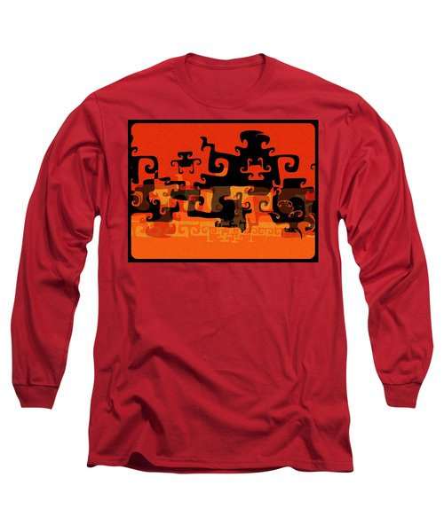 Gnarly Silhouette Parade Long Sleeve T-Shirt