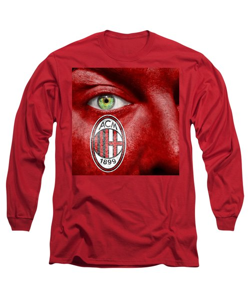 Go Ac Milan Long Sleeve T-Shirt by Semmick Photo