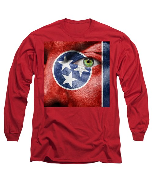 Go Tennessee Long Sleeve T-Shirt by Semmick Photo