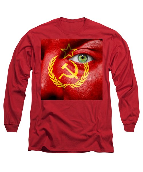 Go Ussr Long Sleeve T-Shirt by Semmick Photo