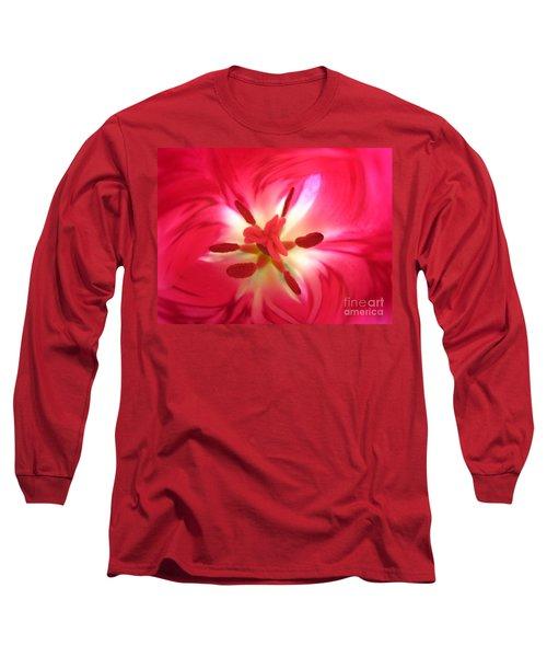 God's Floral Canvas 1 Long Sleeve T-Shirt