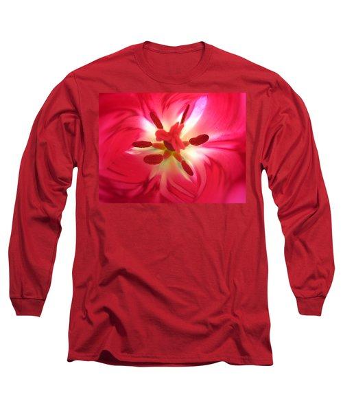 God's Floral Canvas 2 Long Sleeve T-Shirt