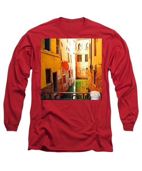 Golden Canal Long Sleeve T-Shirt