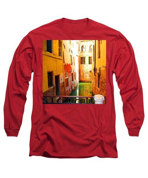 Golden Canal Long Sleeve T-Shirt