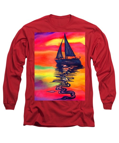 Golden Dreams Long Sleeve T-Shirt by Lil Taylor