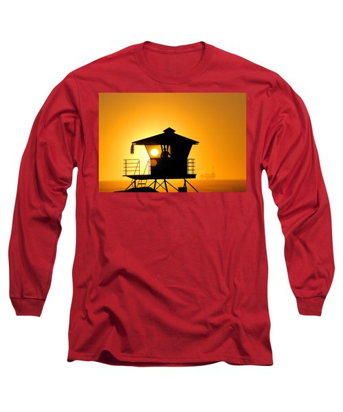 Long Sleeve T-Shirt featuring the photograph Golden Hour by Tammy Espino