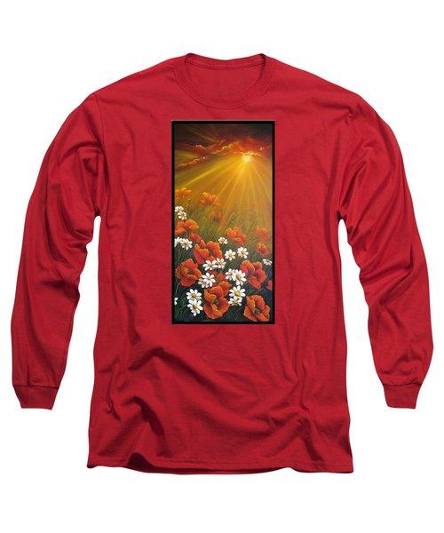 Golden Moment Long Sleeve T-Shirt by Katia Aho