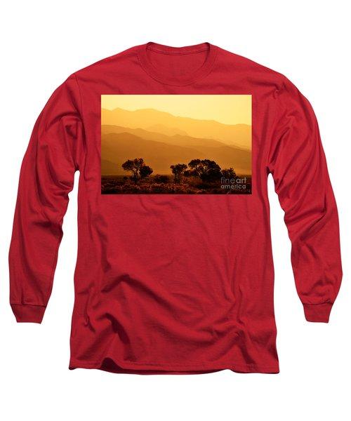 Golden Mountain Light Long Sleeve T-Shirt