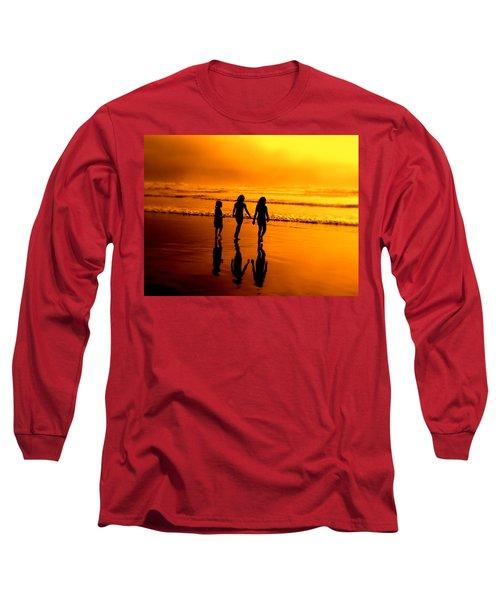Golden Sands  Long Sleeve T-Shirt
