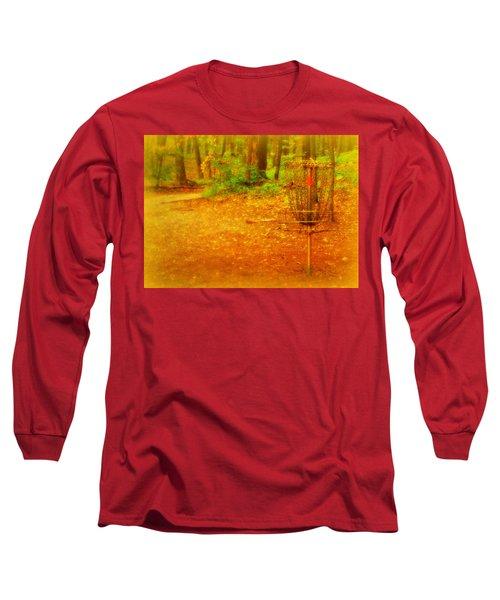 Golden Target Long Sleeve T-Shirt